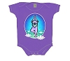 Grateful Dead - Yoga Dancing Bear Baby Onesie