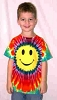 Smiley Face Youth Tie Dye T-Shirt