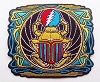 Grateful Dead - Franklin's Tower Scarab Patch