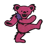 Grateful Dead - Pink Dancing Bear Patch