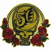 Grateful Dead -Gold & Roses 50th Anniversary Patch