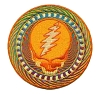 Grateful Dead - Orange Sunshine Patch