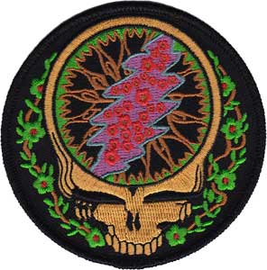 Grateful Dead Syf Steal Your Face Vines Patch