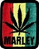 Marley Rasta Leaf Patch