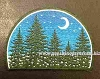 Forest, Moon, & Stars Patch