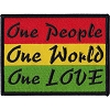 One People, One World, One Love Patch