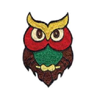 Owl Sew On Patch