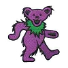 Grateful Dead - Purple Dancing Bear Patch