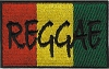 Reggae Rasta Flag Patch