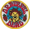 Grateful Dead - Dancing Bear with Roses Embroidered Patch