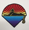 Jerry Garcia - Cats Under The Stars Embroidered Patch