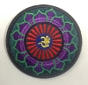 Lotus Om Embroidered Patch