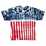 U.S.A. Flag Youth Tie Dye T-Shirt