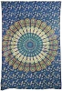 Peacock Mandala Tapestry Wall Hanging