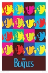 The Beatles - Warhol Poster