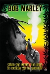 Bob Marley - Smoke the Herb Poster