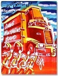 Dave Matthews Band - 2003 Cleveland, OH Concert Poster