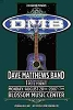 Dave Matthews Band - 2007 Blossom Music Center Concert Poster