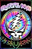 Grateful Dead - Tie Dye SYF Blacklight Poster