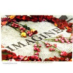 Imagine - John Lennon Memorial Poster