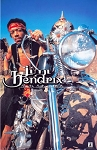 Jimi Hendrix - South Saturn Delta Motorcycle Poster