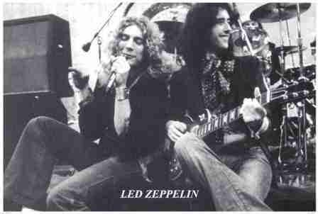 Led Zeppelin Page Amp Plant Poster