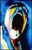 Pink Floyd - Screaming Face Blacklight Poster