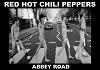 Red Hot Chili Peppers - Abbey Road Poster