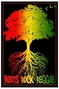 Roots, Rock, Reggae Blacklight  Poster