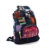 Guatemalan Brocaded  Patchwork Backpack