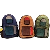 Large Patchwork Corduroy Backpack