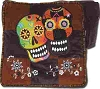 Patchwork Sugar Skull Shoulder Bag