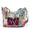 Recycled Patch Purse Shoulder Bag
