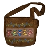 Grateful Dead - Corduroy Bag with Embroidered Dancing Bears