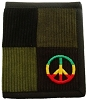 Rasta Peace Patchwork Wallet
