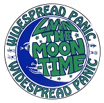 Widespread Panic -  Moon Times Sticker