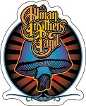 Allman Brothers Band - Mushroom Sticker