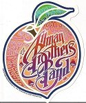 Allman Brothers Band - Beacon Peach Sticker