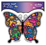 Grateful Dead - Dancing Bears in Butterfly Sticker