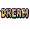 Dream Patchwork Sticker