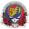 Grateful Dead - 50th Anniversary Logo Sticker