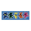 Grateful Dead - Dancing Bears Bumper Sticker