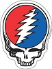 Grateful Dead - Steal Your Face Die Cut Sticker