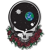 Grateful Dead - Space Your Face Metal Emblem Sticker