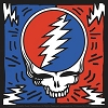 Grateful Dead - SYF Bolts Square Sticker