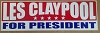 Les Claypool - For President Sticker