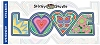 Psychedelic Love Sticker