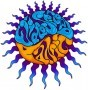 Widespread Panic - Melted Sun Sticker