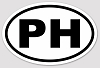 Phish - PH Euro Oval Sticker Decal