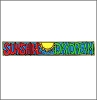 Sunshine Daydream Banner Window Sticker